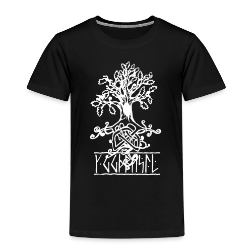 yggdrasil -the norse tree of life - Kids' Premium T-Shirt