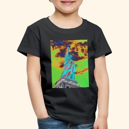 Statua della libertà - Maglietta Premium per bambini