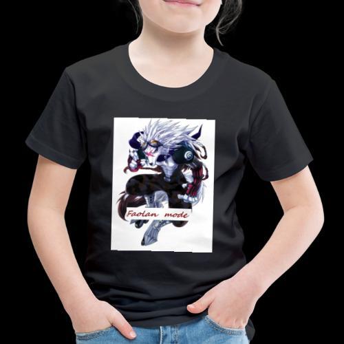 Loup Guerrier - T-shirt Premium Enfant