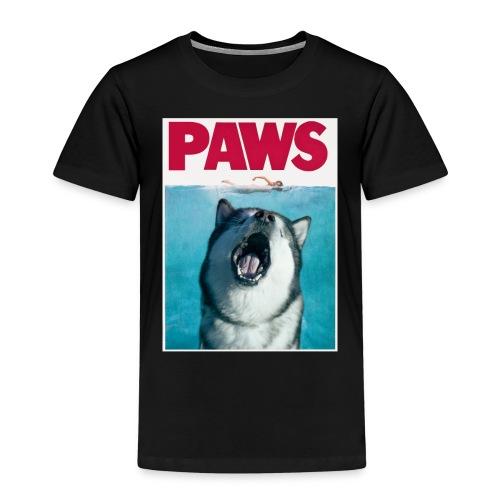 paws Alaskan Malamute - Kids' Premium T-Shirt