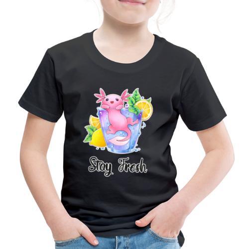 Axolotl im Glas - Stay Fresh - Kinder Premium T-Shirt