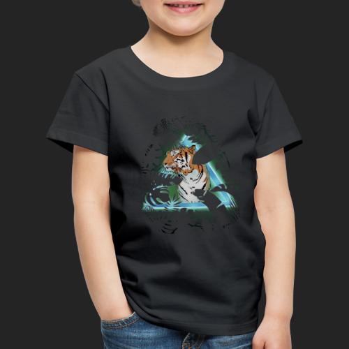 Tigre en soirée - T-shirt Premium Enfant