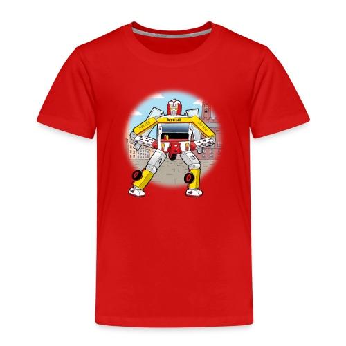 Pølsevogn transformer - Børne premium T-shirt