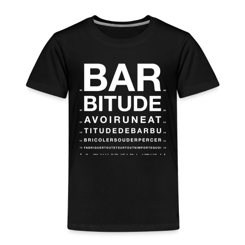 barbitude ophtalmo blanc - T-shirt Premium Enfant