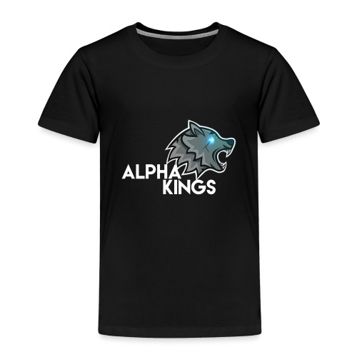 logo Alpha Kings white - T-shirt Premium Enfant