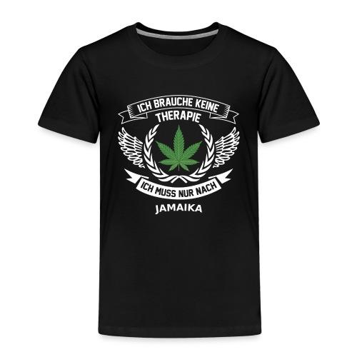 Jamaika Hanfblatt T-Shirt Urlaub - Kinder Premium T-Shirt