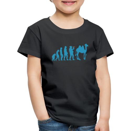 evolution_chameau2 - T-shirt Premium Enfant
