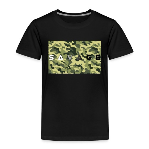 savage camo premium - Kinder Premium T-Shirt