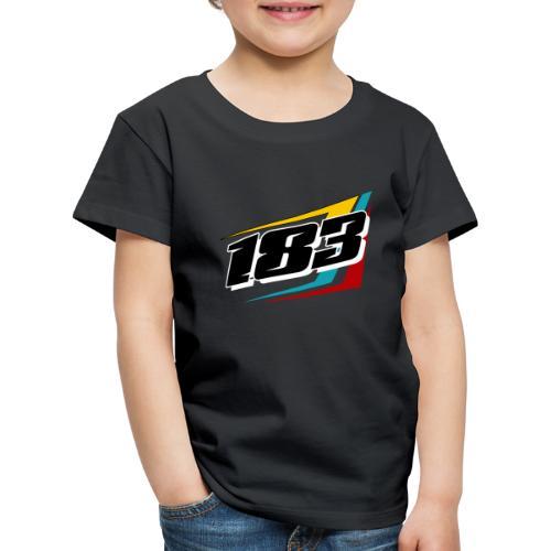 183 Charlie Guinchard Brisca F2 2021 front & back - Kids' Premium T-Shirt