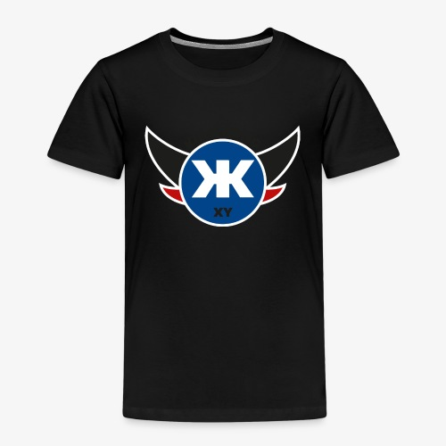Logo KINGKONGXY Kreis - Kinder Premium T-Shirt