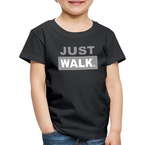 JUST WALK KIDS & TEENS grijs - Kinderen Premium T-shirt