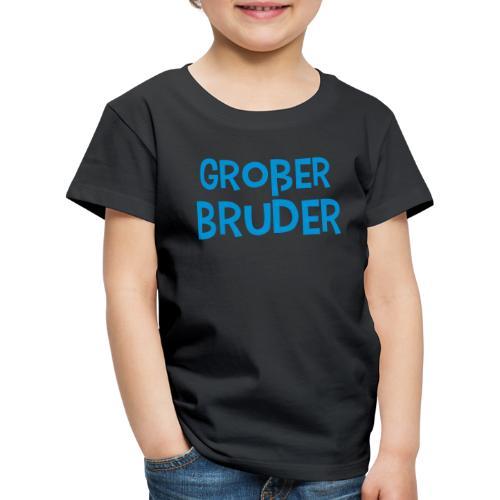 Großer Bruder Schriftzug - Kinder Premium T-Shirt
