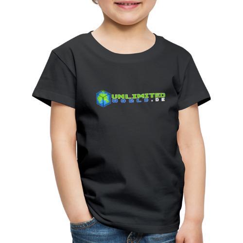 UW Logo mit weißem DE - Kinder Premium T-Shirt