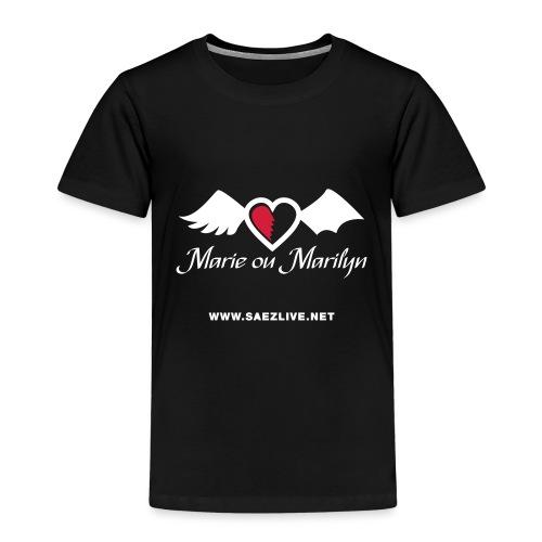 Marie ou Marilyn (version light) - T-shirt Premium Enfant