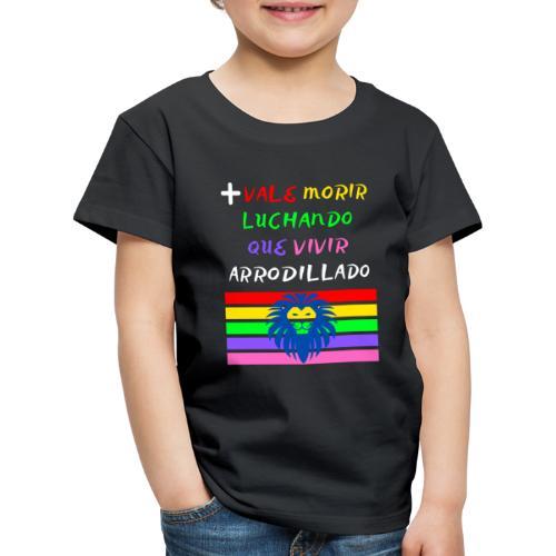 Mas Vale Morir Luchando - Camiseta premium niño