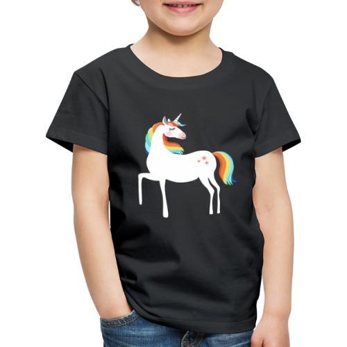 stolzierendes Einhorn bezaubernd Pferde Fabelwesen - Kinder Premium T-Shirt