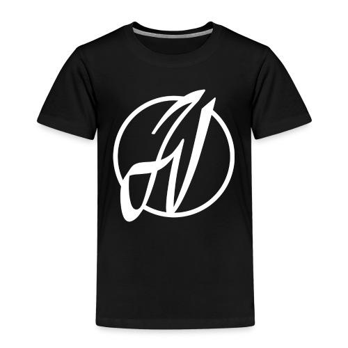 JV Guitars - logo blanc - T-shirt Premium Enfant