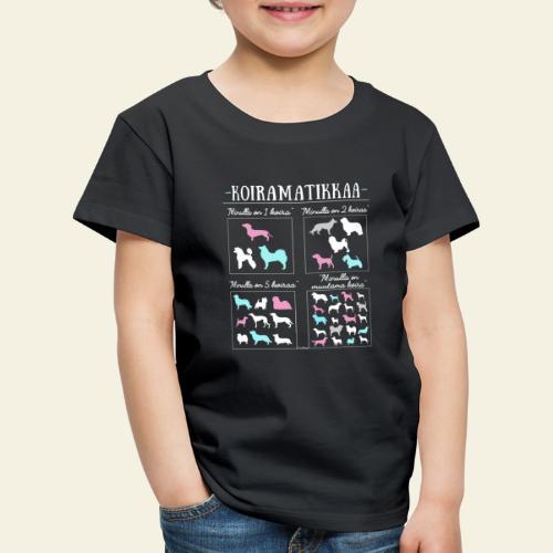 Koiramatikkaa II - Lasten premium t-paita