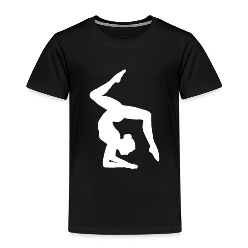 Acrogym-Single001White - Kinderen Premium T-shirt