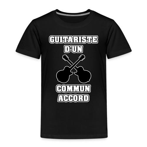 GUITARISTE D'UN COMMUN ACCORD - JEUX DE MOTS - T-shirt Premium Enfant