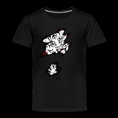 Böser Tiger - Kinder Premium T-Shirt