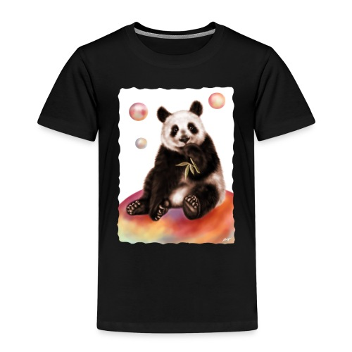 Panda World - Maglietta Premium per bambini