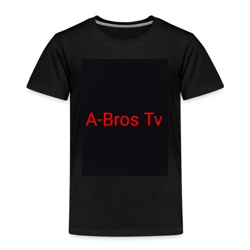 A-Bros Tv red - Kinder Premium T-Shirt