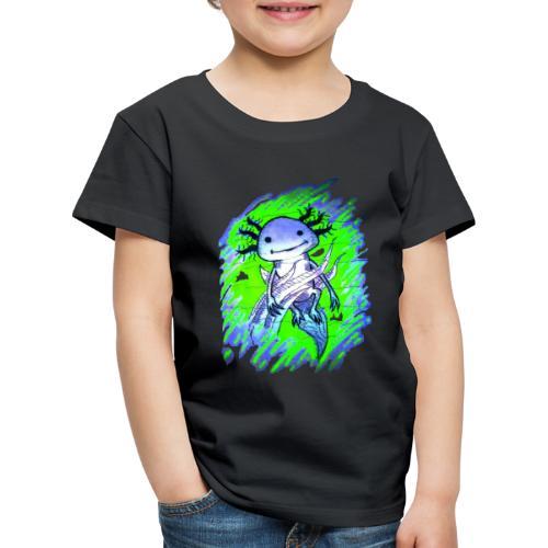 Axolotl - Lasten premium t-paita