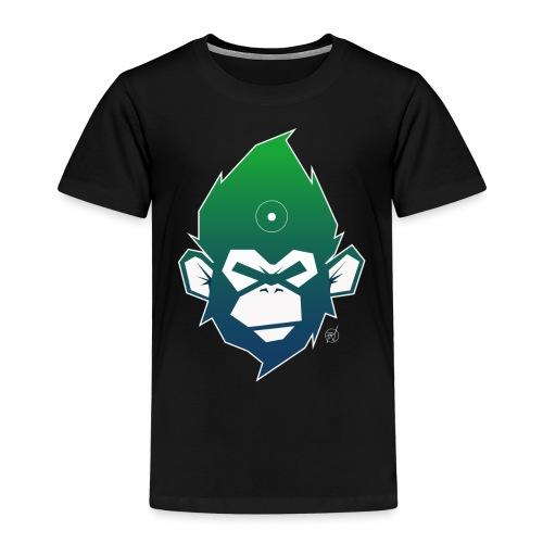 monkeyZ degrade bleu vert - T-shirt Premium Enfant