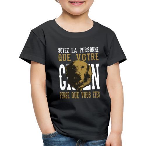 Un amour de chien - T-shirt Premium Enfant