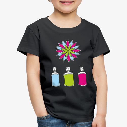 SOLRAC Spray of colors - Camiseta premium niño