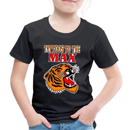 Tattoos to the Max - Tiger - Kinder Premium T-Shirt