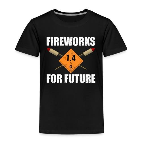 Fireworks for Future Silvester Pyro - Kinder Premium T-Shirt