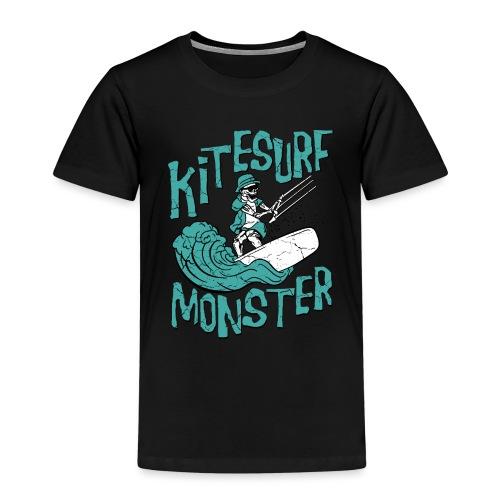 Kitesurf Monster - Kinder Premium T-Shirt