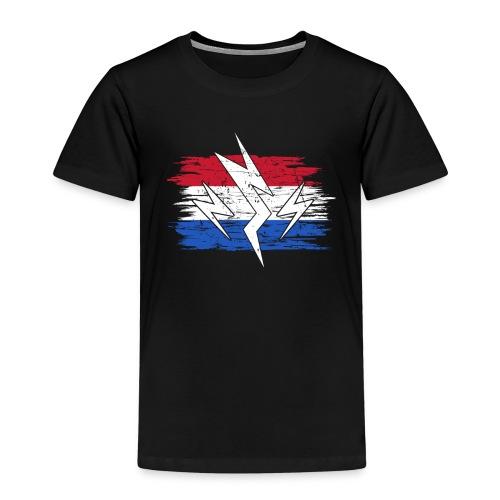 Niederlande Holland Strom Elektroauto Geschenk - Kinder Premium T-Shirt