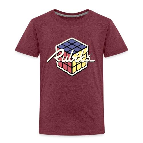 Rubik's Cube Retro Style - Kids' Premium T-Shirt