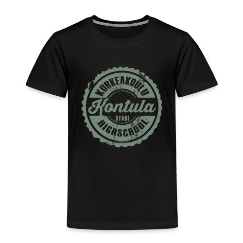 06V-KONTULAN KORKEAKOULU - Tekstiilit ja lahjat - Lasten premium t-paita