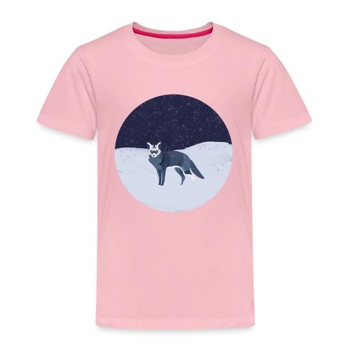 Blue fox - Lasten premium t-paita