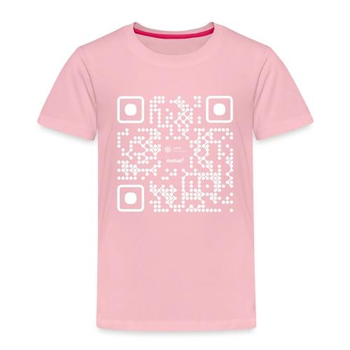 QR - Maidsafe.net White - Kids' Premium T-Shirt
