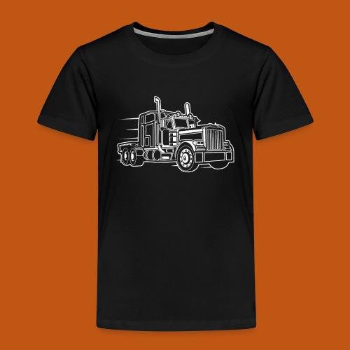Truck / Lkw 03_weiß - Kinder Premium T-Shirt