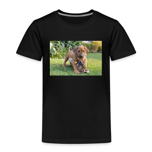 adorable puppies - Kids' Premium T-Shirt