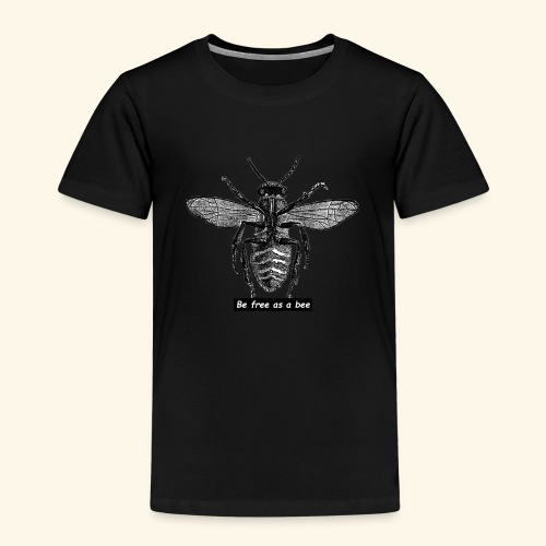 be free as a bee - T-shirt Premium Enfant