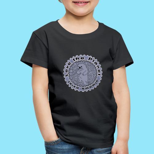 Love the Planet - Otter - Kids' Premium T-Shirt