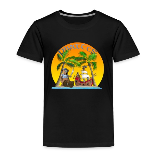 Piraten - Schatz - Kinder Premium T-Shirt