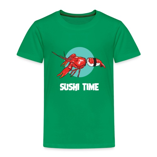 SUSHI TIME-gambero-b - Maglietta Premium per bambini
