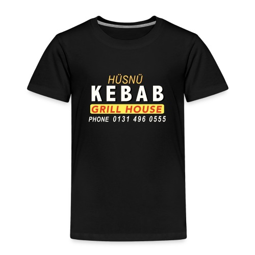 Husnu Kebab Shop - Kids' Premium T-Shirt