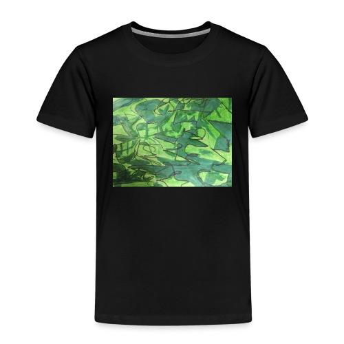 Millitær - Premium T-skjorte for barn