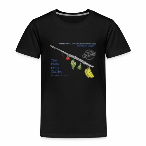 Experimental Musical Instruments - Flute Fruit - Kids' Premium T-Shirt