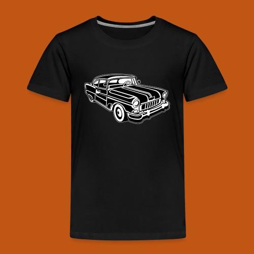 Chevy Cadilac / Muscle Car 02_schwarz weiß - Kinder Premium T-Shirt