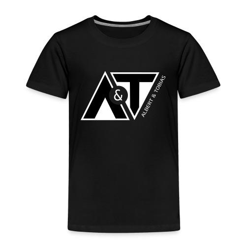 A & T - logo - S/H - Børne premium T-shirt